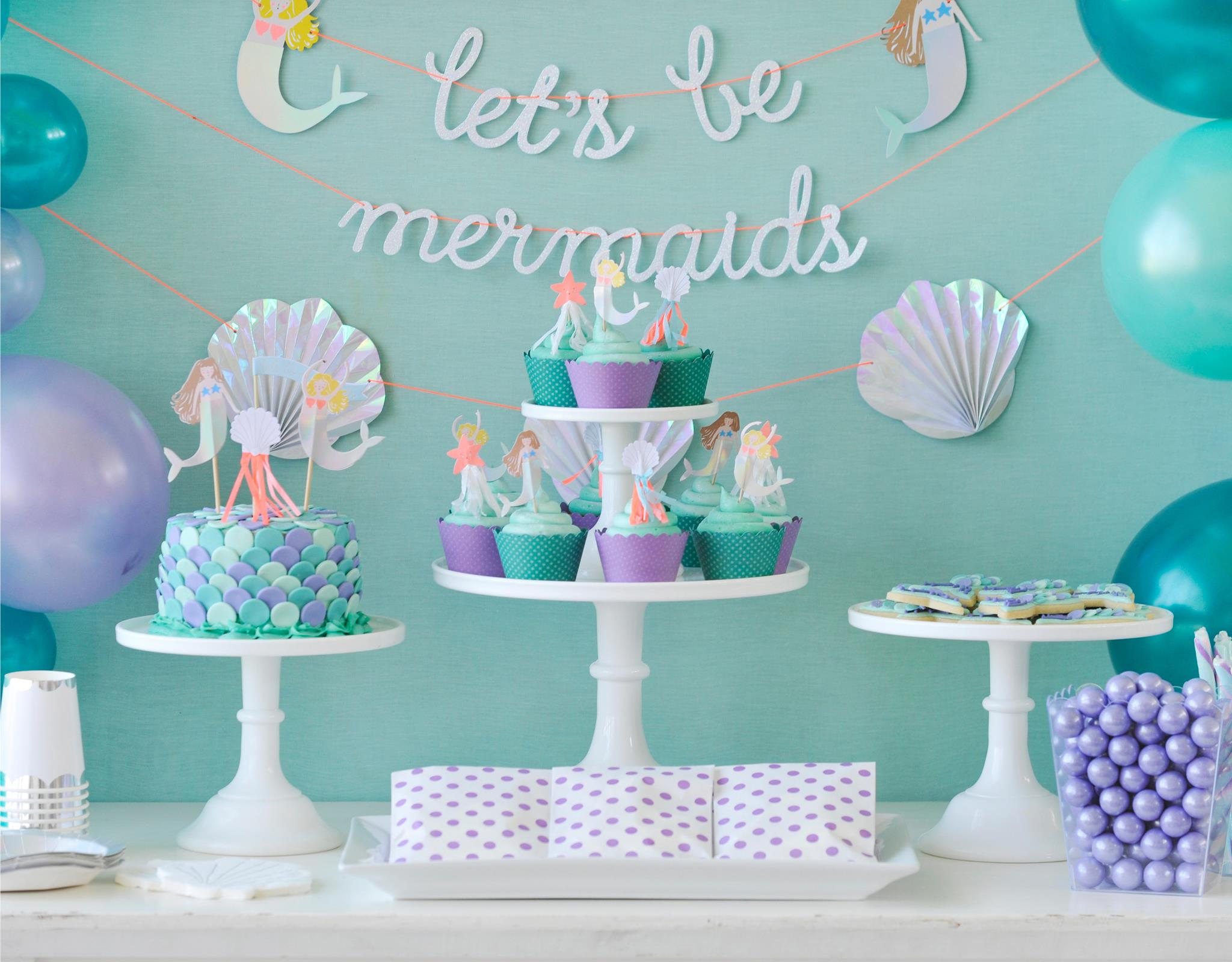 Splash On Over To This Adorable Mermaid Party