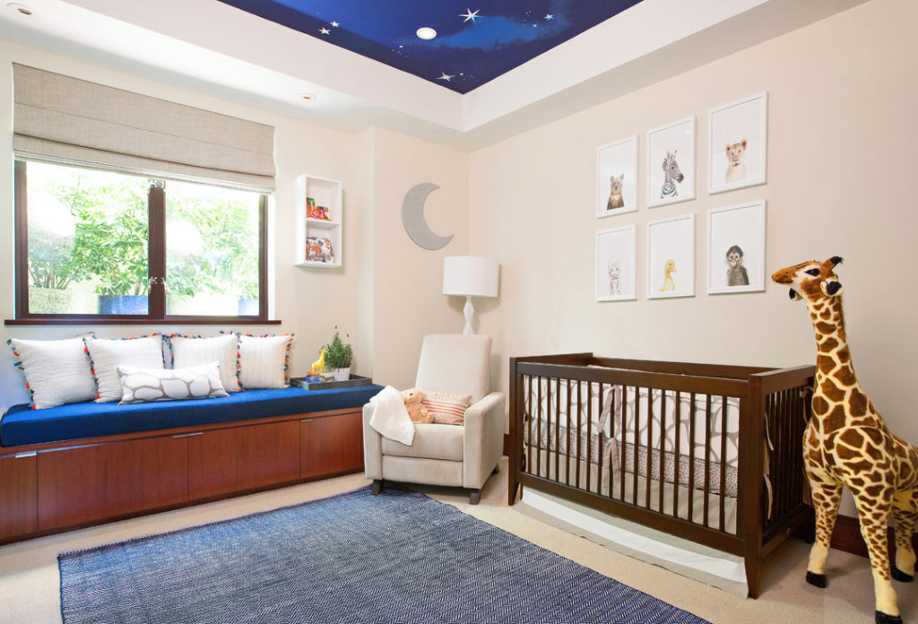 Safari Nursery by Little Crown Interiors
