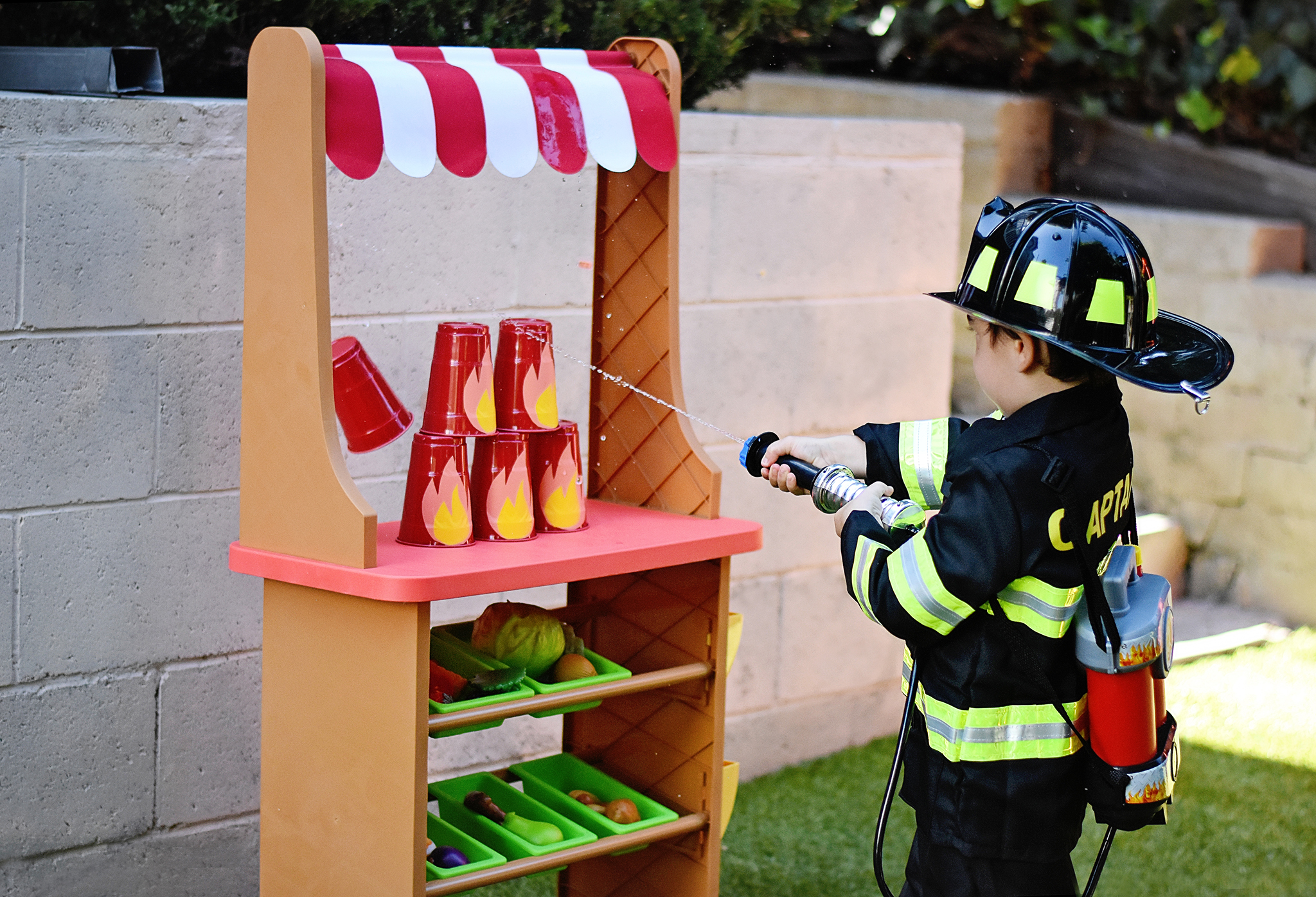 Sound The Alarm For The Ultimate Fire Truck Birthday Party Project Nursery