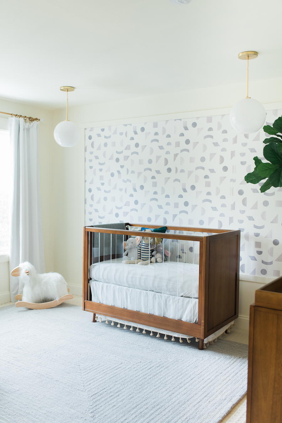 Jenna Kutcher's Nursery Reveal by Little Crown Interiors