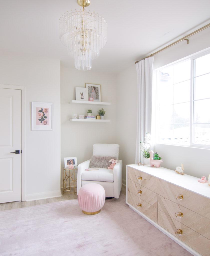 Modern Blush Nursery