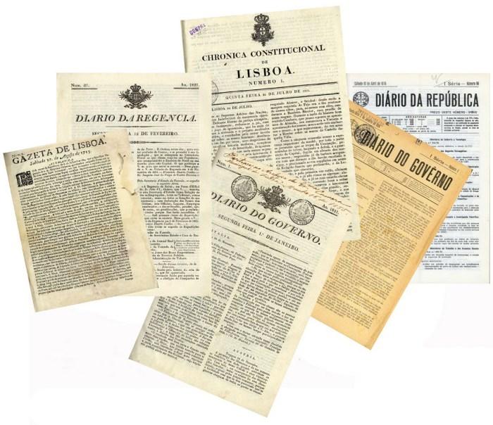 300 anos de imprensa oficial portuguesa