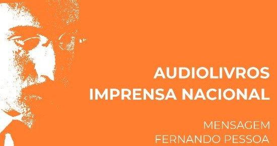 Imprensa Nacional lança «Mensagem» em audiolivro