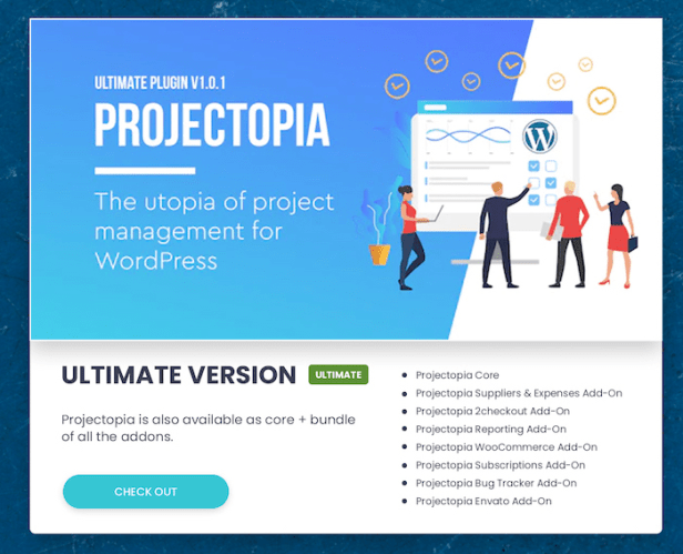 Projectopia - WordPress Project Management Plugin - 4