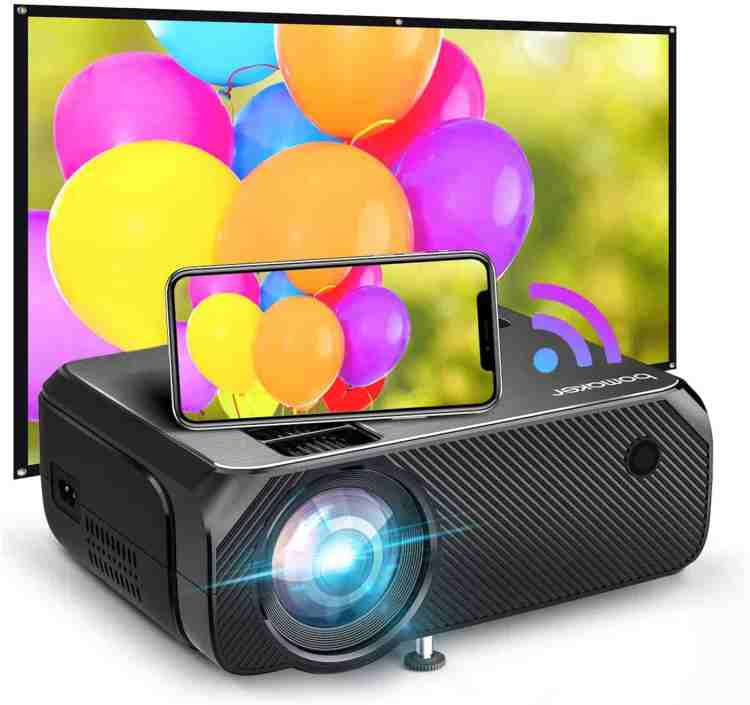 Bomaker GC35 2021 upgraded Wi-Fi outdoor projector Review