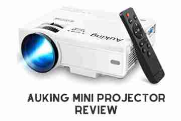 AuKing Mini Projector Review