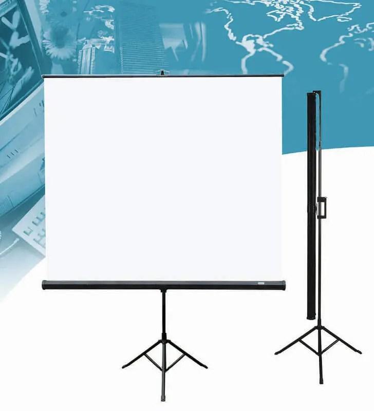 01 Các loại màn hình máy chiếu 15 Màn hình máy chiếu chân máy