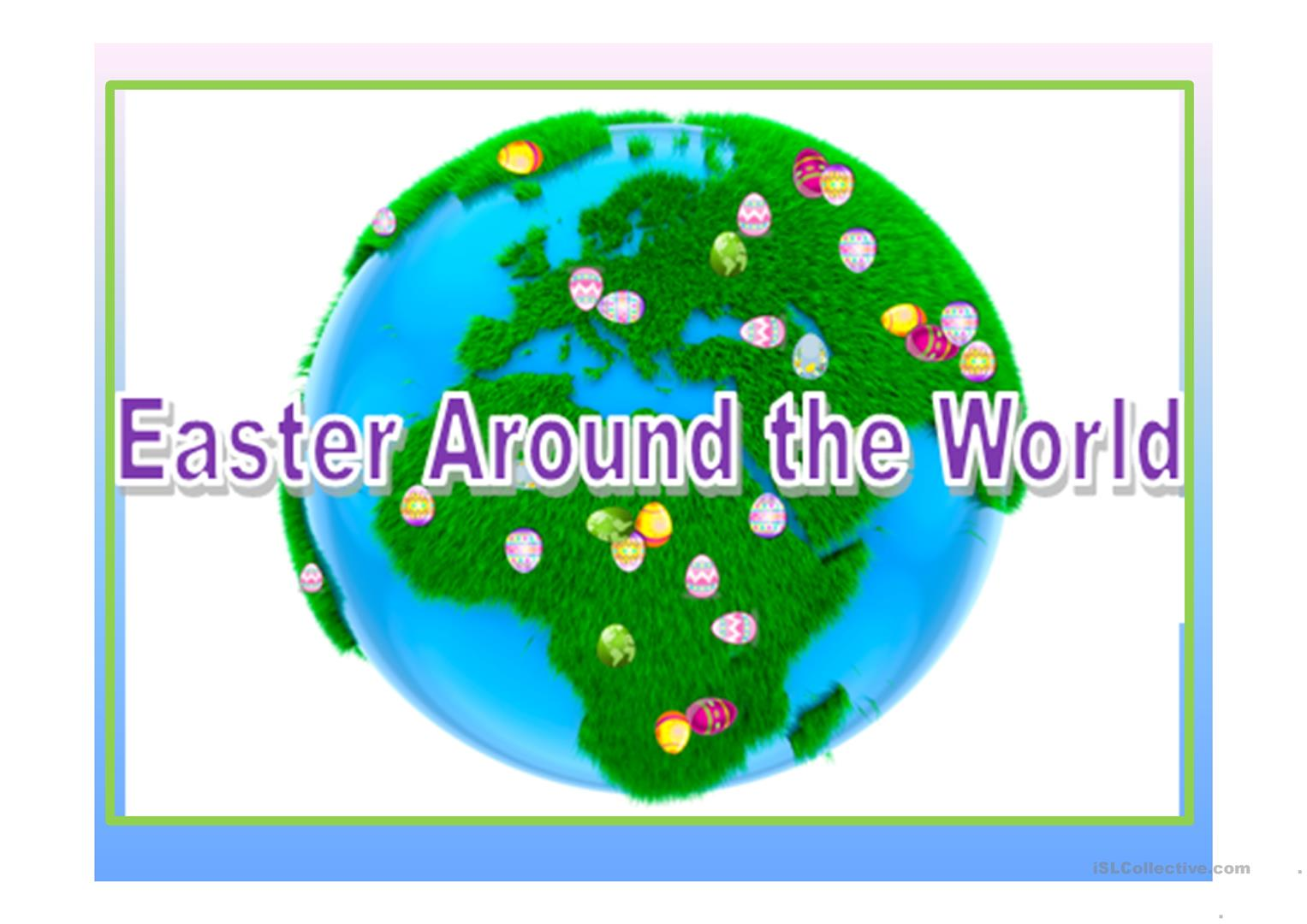 Multicultural Forum Easter Around The World