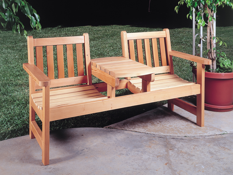 plans outdoor benches