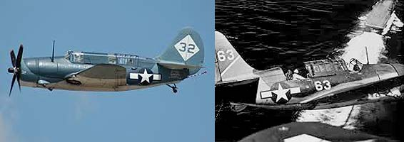 SB2C HellDiver Warplane