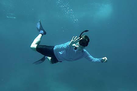 blake snorkling palau for bentprop