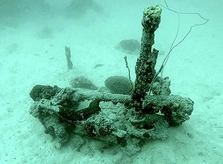 ship debri in palau