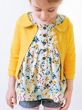 Aster Cardigan by LBG Studio for Project Run & Play