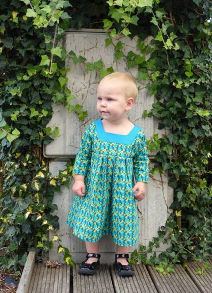 Squared Away Dress and Tunic by Winter Wear Designs for Project Run & Play