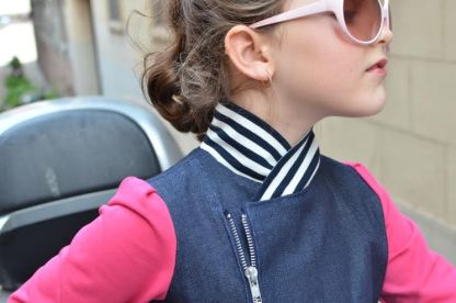 Moto Jacket by Jennuine Design for Project Run & Play