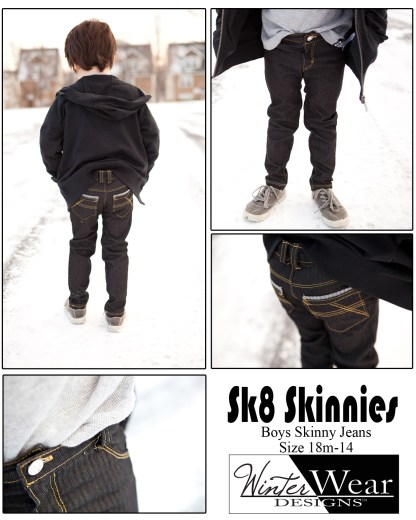 Sk8 Skinnies by Winter Wear Designs for Project Run & Play