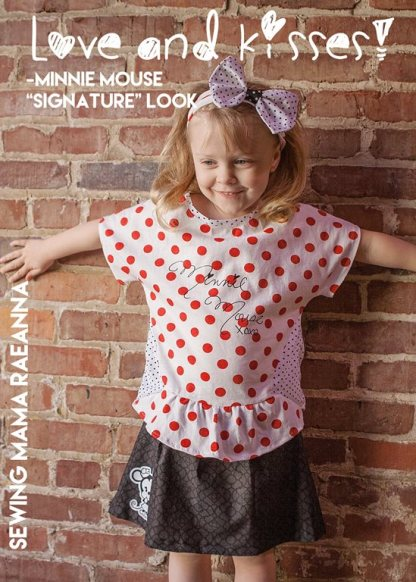 Tilly Skirt by Sewing Mama Raeanna for Project Run & Play