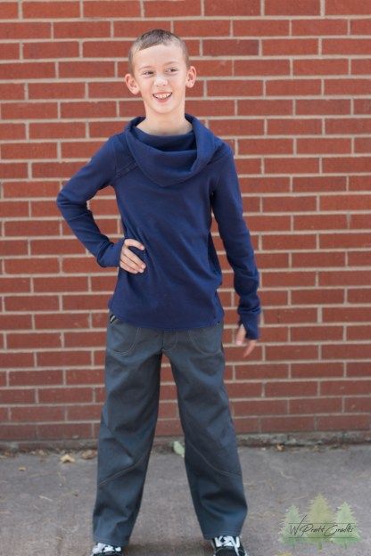 Alderwood Pullover by Phat Quarters for Project Run & Play