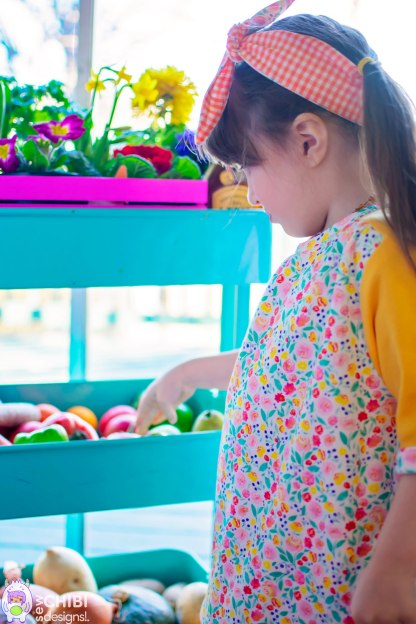 Up Beet Tee & Dress by Petit a Petit & Family for Project Farmer's Market