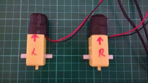 labeled motors