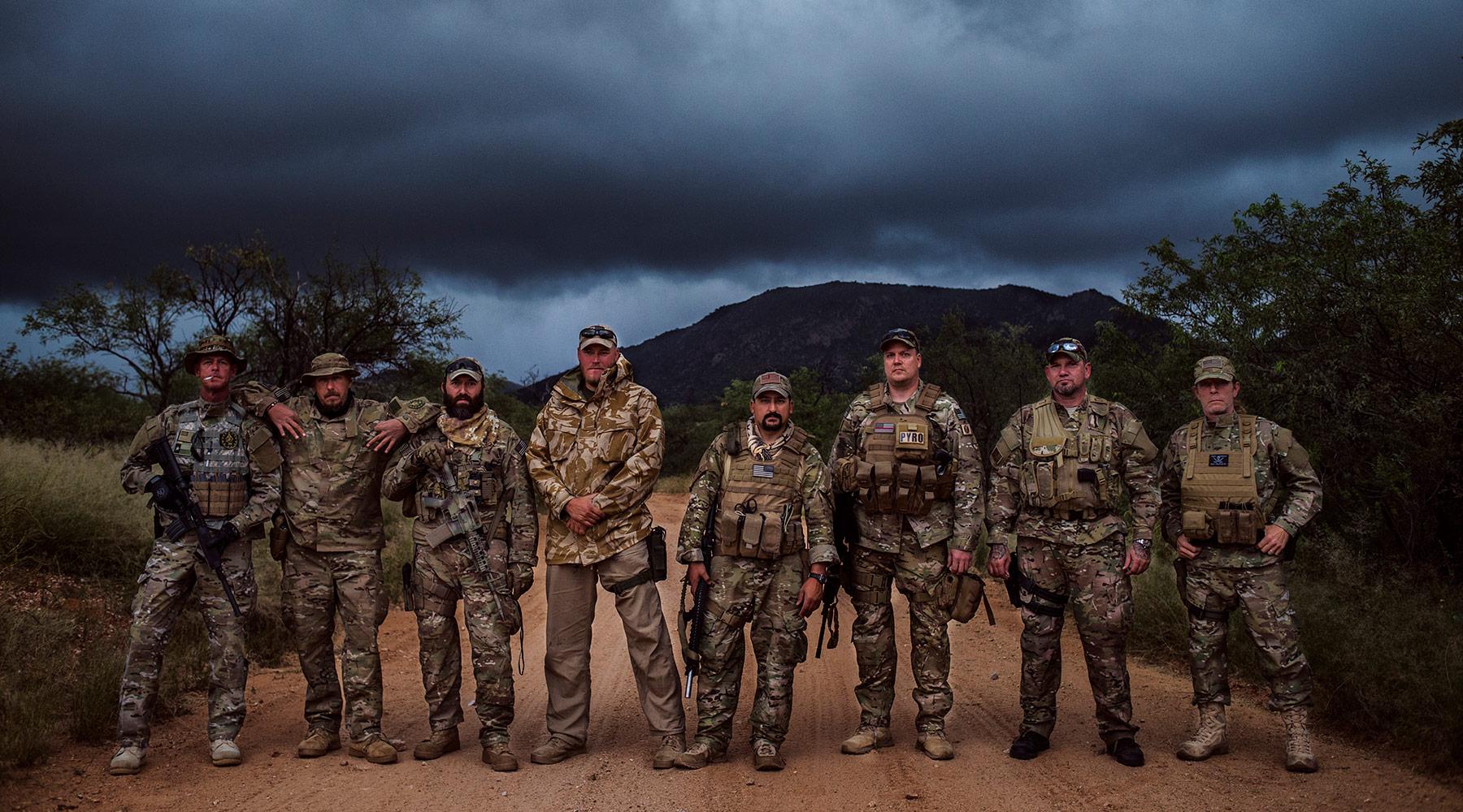 Image result for Arizona Militia mexico border