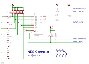 NES Controller on the Raspberry Pi   Gordons Projects