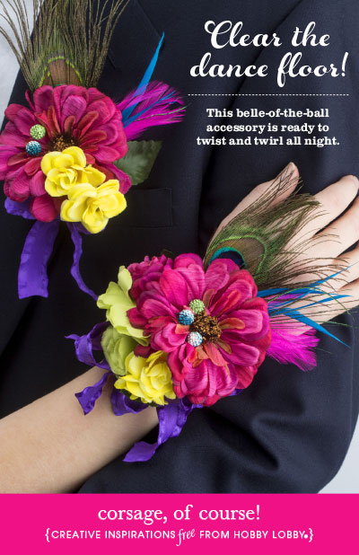 HobbyLobby Projects Corsage Of Course