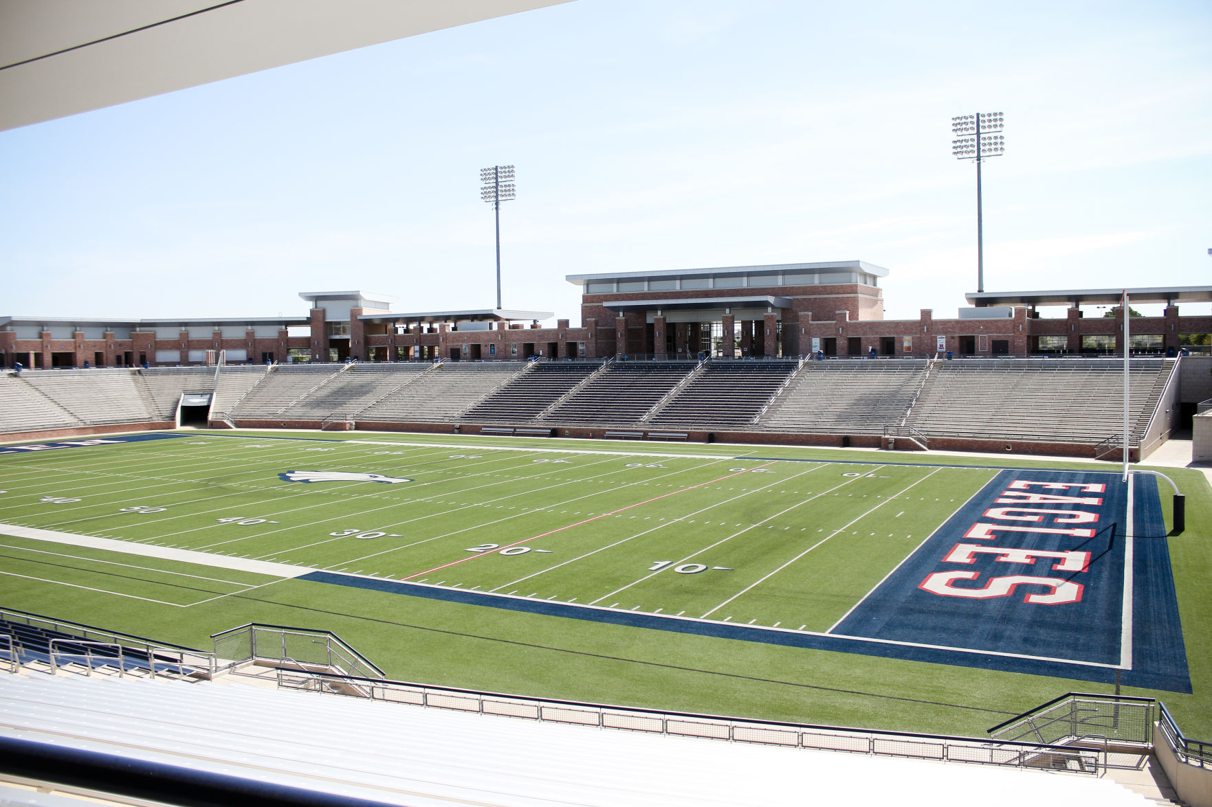 6c15a0ba16e Kyler Murray's high school football field at Allen High School in Allen,  TX. Caitlyn Epes/The Daily