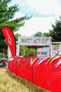 Start line of the Dances with Dirt 50 Mile Ultramarathon
