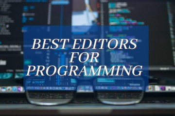 best editors for pogramming