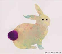 Bunny Silhouette Painting 4