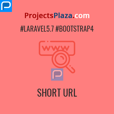 url shortner project in laravel