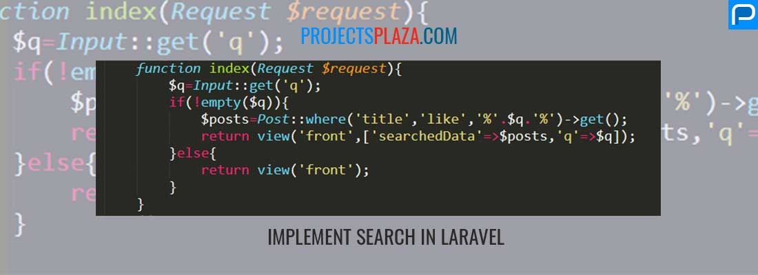 implement-search-with-laravel