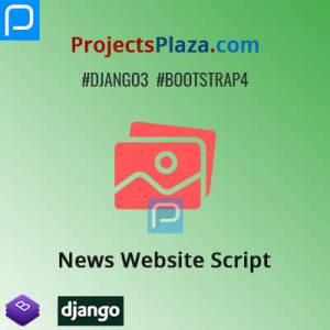 news website script in django