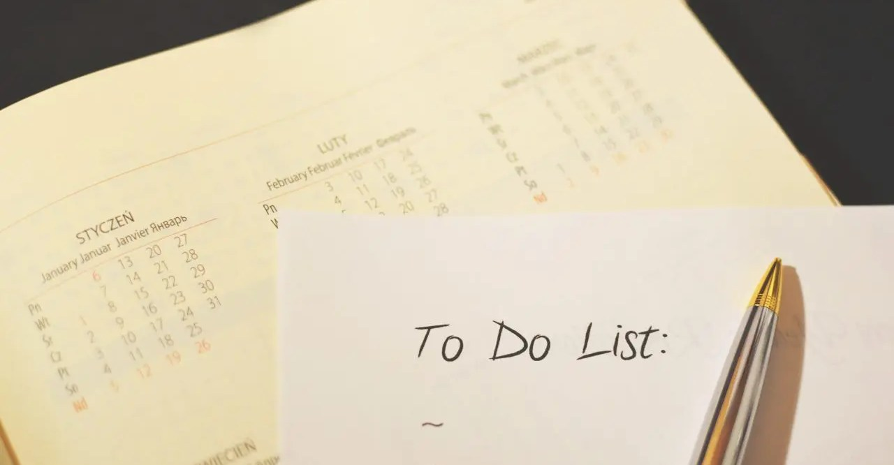 A blank to-do list