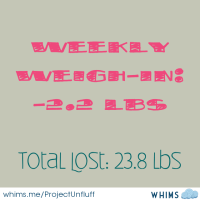 Weekly Weigh-In!!