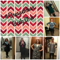 #UnfluffYourStuff and #Dressember Week 1