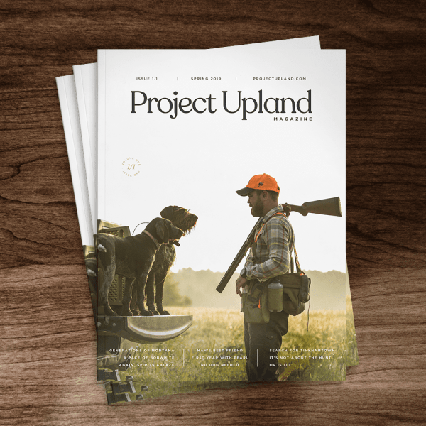 Project Upland Issue One Cover