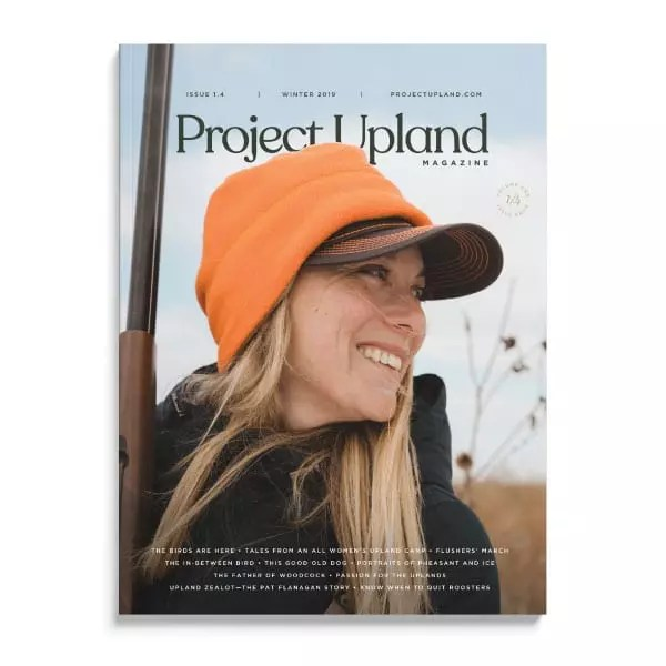 Cover of the Winter 2019 Issue of Project Upland Magazine