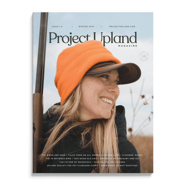 Front Cover of Winter 2019 Issue of Project Upland Magazine