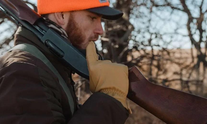 Hunting quail and pheasant with a Remington 870 pump shotgun.