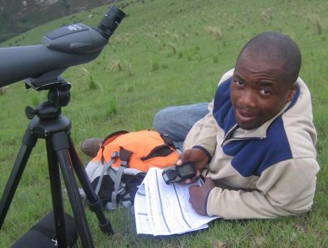Field ranger Thabathani Tshaka