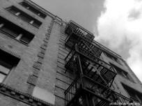 The obligatory black & white building shot.