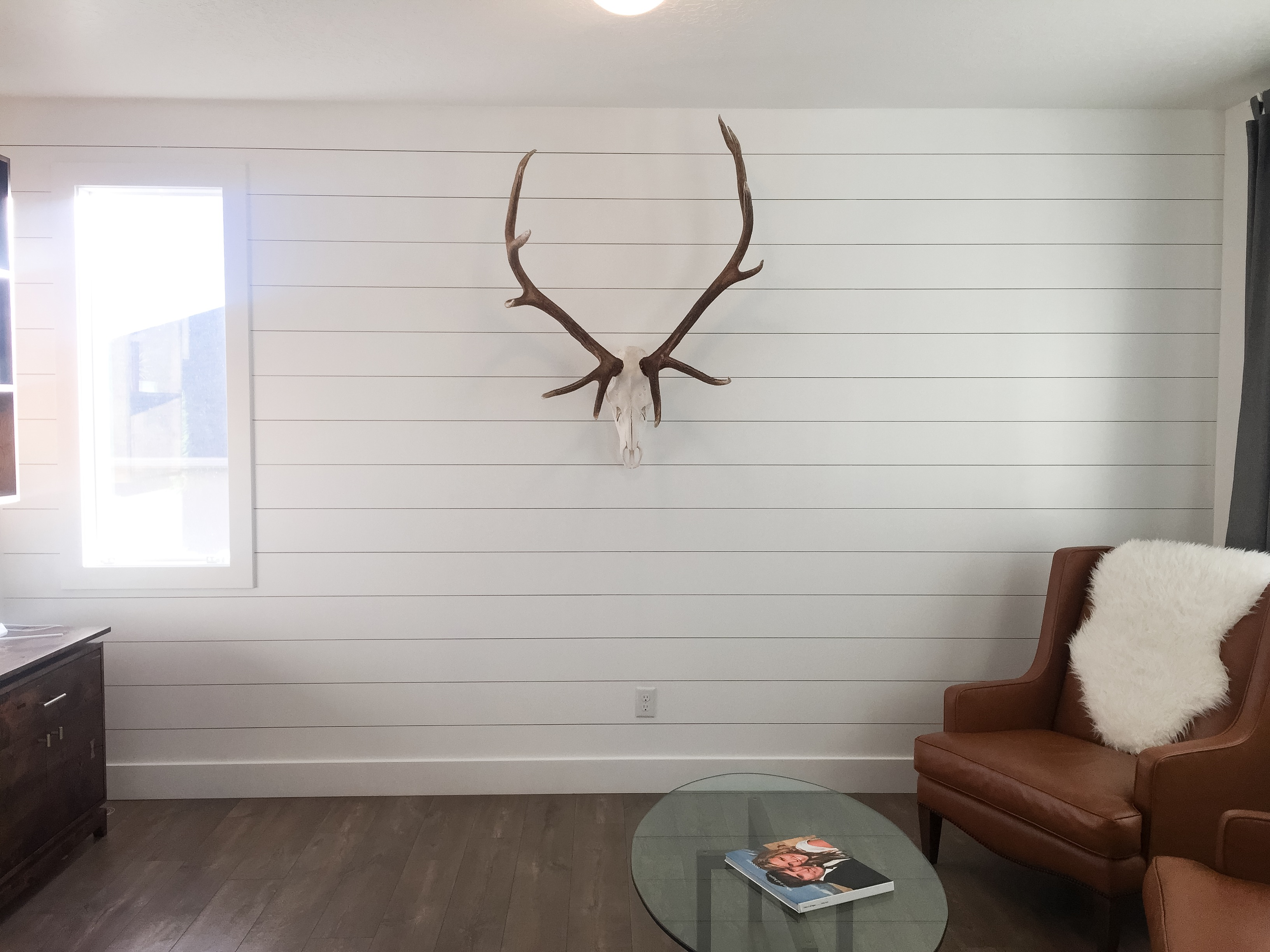 Diy Shiplap Wall For Less Project Weekley