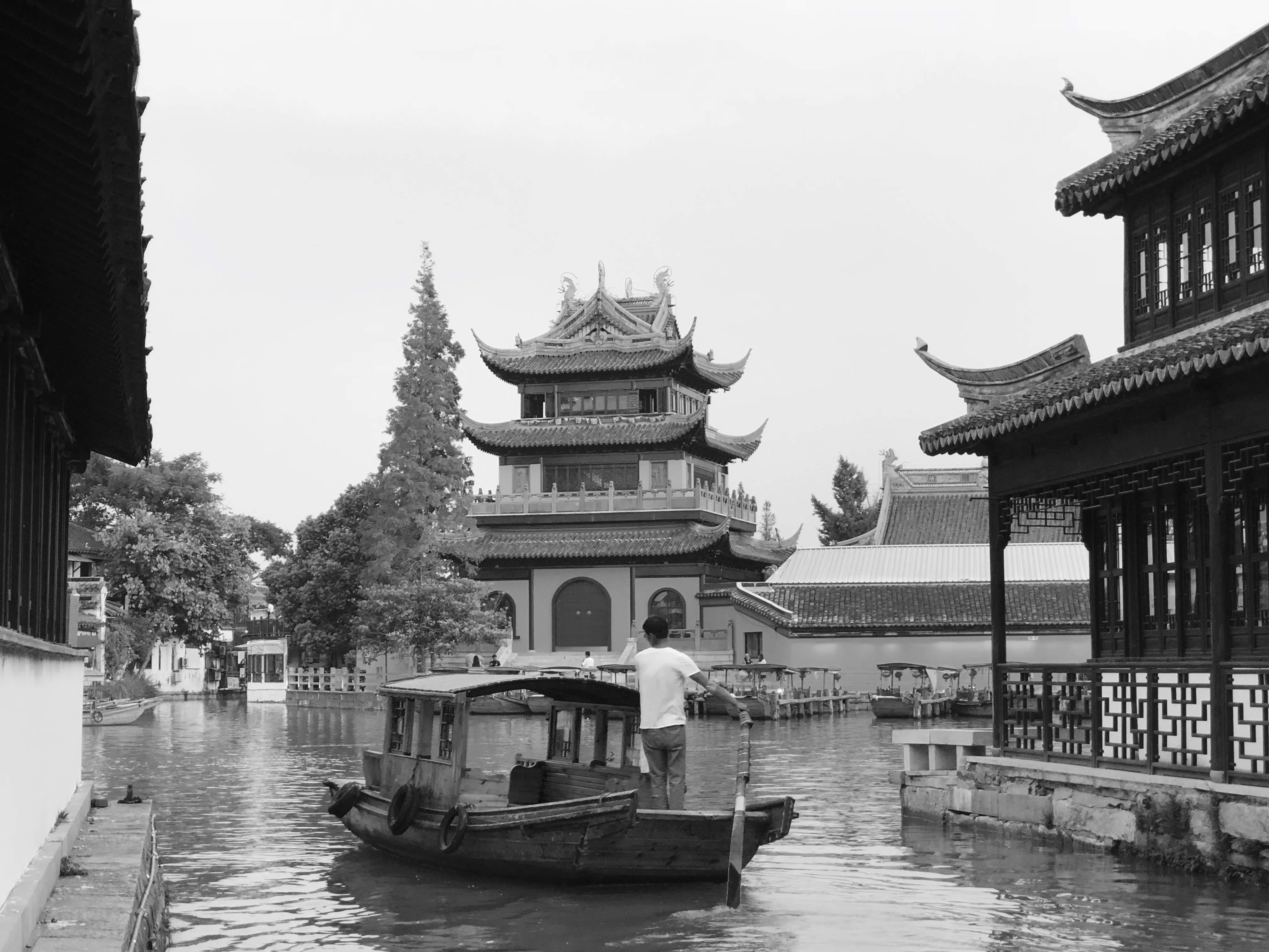 四天三夜江南行(一):【中國上海景點】朱家角斜陽確實很美 | WeRead|我們閱讀
