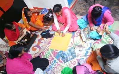 Anou's blog  Giving Wings to the Dreams of a Sewing Circle #GivingTuesday #India