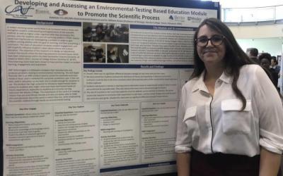 Wesley Environmental Science STEM Ambassador Gets Published