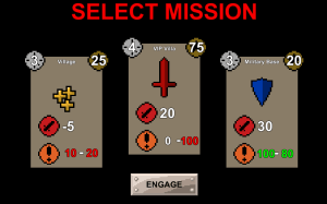 Select Mission Screen