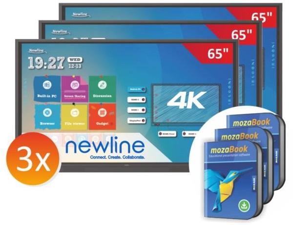 zestaw-3xmonitor-Newline-6518RS-z-3x-mozaBook