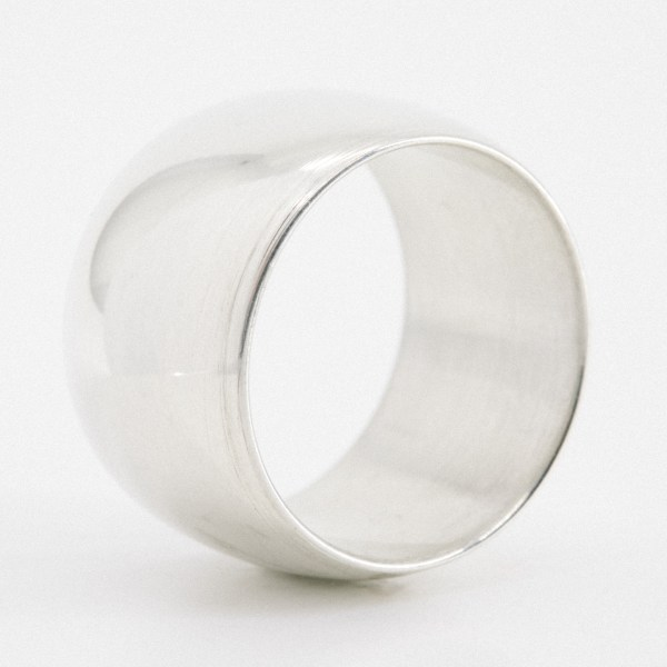 Pipe Ring with Curved Sides